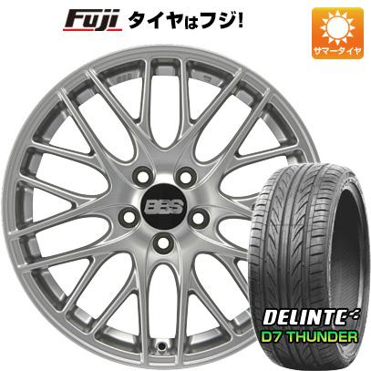 タイヤはフジ 送料無料 BBS GERMANY BBS CS 限定 7.5J 7.50-18 DELINTE デリンテ D7 サンダー(限定) 215/35R18 18インチ サマータイヤ ホイール4本セット