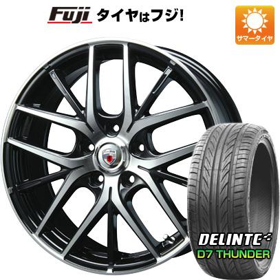 タイヤはフジ 送料無料 BLEST ブレスト ユーロスポーツ MXベテルグ 7J 7.00-18 DELINTE デリンテ D7 サンダー(限定) 215/35R18 18インチ サマータイヤ ホイール4本セット