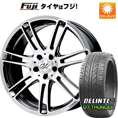 お買い得モデル タイヤはフジ 送料無料 CEC C883 7J 7.00-18 DELINTE デリンテ D7 サンダー(限定) 215/35R18 18インチ サマータイヤ ホイール4本セット, ぎょうざの美鈴 d6c00db3