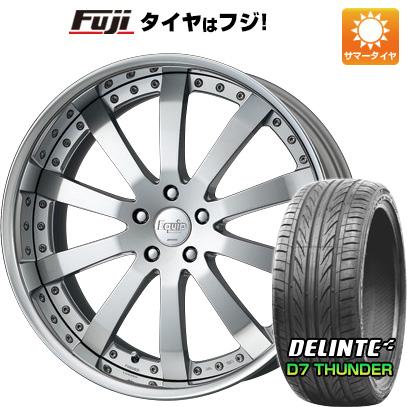 タイヤはフジ 送料無料 WORK ワーク エクイップ E10 F:8.50-20 R:9.50-20 DELINTE デリンテ D7 サンダー(限定) F:245/30R20 R:255/30R20 サマータイヤ ホイール4本セット