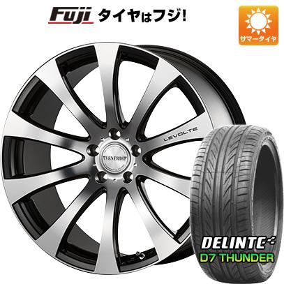 タイヤはフジ 送料無料 VENERDI ヴェネルディ レヴォルテ 7.5J 7.50-19 DELINTE デリンテ D7 サンダー(限定) 225/35R19 19インチ サマータイヤ ホイール4本セット
