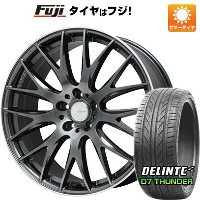 タイヤはフジ 送料無料 RAYS レイズ ホムラ 2X9 Limited 8J 8.00-19 DELINTE デリンテ D7 サンダー(限定) 225/35R19 19インチ サマータイヤ ホイール4本セット