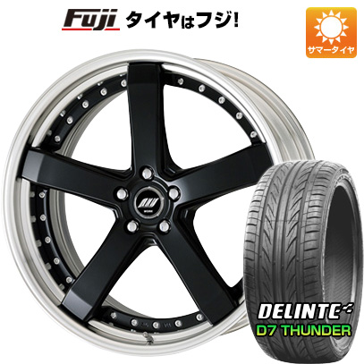 タイヤはフジ 送料無料 WORK ワーク ジースト ST2 8J 8.00-19 DELINTE デリンテ D7 サンダー(限定) 235/35R19 19インチ サマータイヤ ホイール4本セット