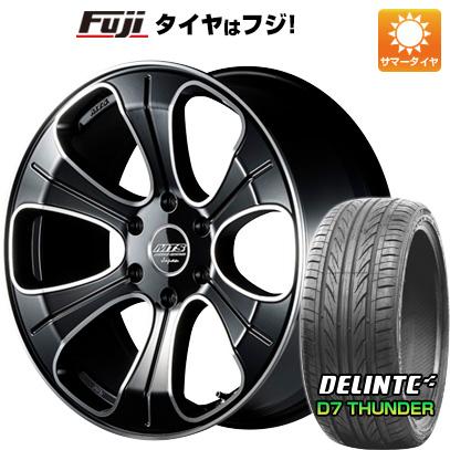 タイヤはフジ 送料無料 ハイエース200系 M-TECHNO エムテクノ M.T.S. MJ20-01S 8.5J 8.50-20 DELINTE デリンテ D7 サンダー(限定) 225/35R20 20インチ サマータイヤ ホイール4本セット
