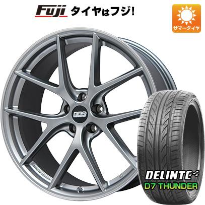 タイヤはフジ 送料無料 BBS GERMANY BBS CI-R 8.5J 8.50-20 DELINTE デリンテ D7 サンダー(限定) 255/35R20 20インチ サマータイヤ ホイール4本セット