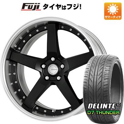 タイヤはフジ 送料無料 WORK ワーク グノーシスGR 203 7.5J 7.50-19 DELINTE デリンテ D7 サンダー(限定) 215/35R19 19インチ サマータイヤ ホイール4本セット