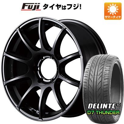 タイヤはフジ 送料無料 ハイエース200系 RAYS レイズ グラムライツ 57トランスエックス 8.5J 8.50-20 DELINTE デリンテ D7 サンダー(限定) 225/35R20 20インチ サマータイヤ ホイール4本セット