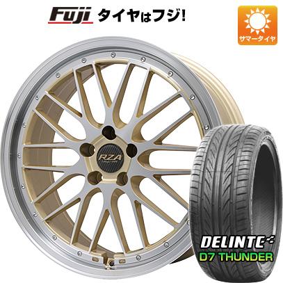 タイヤはフジ 送料無料 BIGWAY ビッグウエイ LEYCROSS レゼルヴァ 8.5J 8.50-20 DELINTE デリンテ D7 サンダー(限定) 245/40R20 20インチ サマータイヤ ホイール4本セット