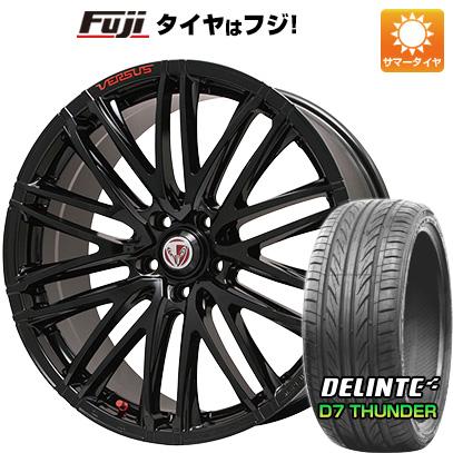 タイヤはフジ 送料無料 VERSUS ベルサス ストラテジーア ヴァローレ Limited 7.5J 7.50-19 DELINTE デリンテ D7 サンダー(限定) 225/40R19 19インチ サマータイヤ ホイール4本セット