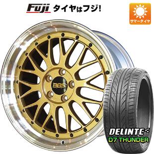 タイヤはフジ 送料無料 BBS JAPAN BBS LM 7.5J 7.50-19 DELINTE デリンテ D7 サンダー(限定) 215/35R19 19インチ サマータイヤ ホイール4本セット