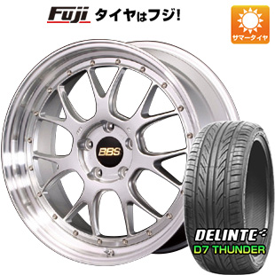 【送料無料】  BBS JAPAN BBS LM-R F:8.50-19 R:9.50-19 DELINTE デリンテ D7 サンダー(限定) F:245/40R19 R:275/35R19 サマータイヤ ホイール4本セット