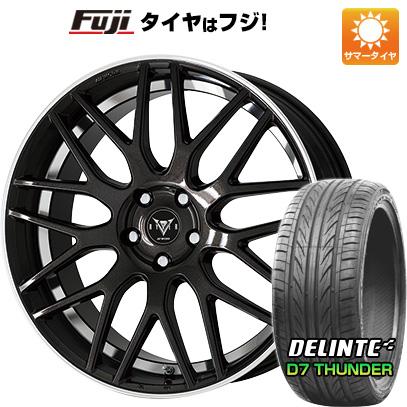 タイヤはフジ 送料無料 WORK ワーク レイバー M009 8.5J 8.50-20 DELINTE デリンテ D7 サンダー(限定) 245/40R20 20インチ サマータイヤ ホイール4本セット