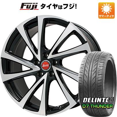 タイヤはフジ 送料無料 BIGWAY ビッグウエイ B-WIN ヴェノーザ10 8.5J 8.50-20 DELINTE デリンテ D7 サンダー(限定) 245/40R20 20インチ サマータイヤ ホイール4本セット