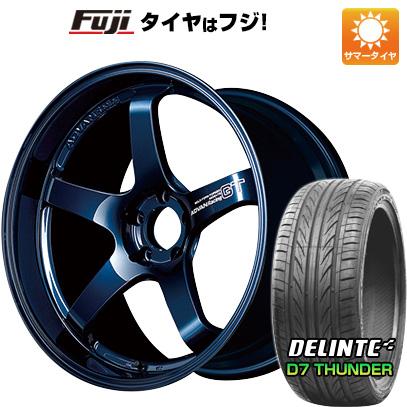 【NEW限定品】 タイヤはフジ 送料無料 YOKOHAMA ヨコハマ アドバンレーシング GT プレミアムバージョン 8J 8.00-18 DELINTE デリンテ D7 サンダー(限定) 235/55R18 18インチ サマータイヤ ホイール4本セット, travels (トラベルズ) a9ecfc9a
