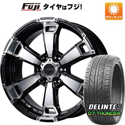 タイヤはフジ 送料無料 ハイエース200系 RAYS レイズ デイトナ FDX G6 8.5J 8.50-20 DELINTE デリンテ D7 サンダー(限定) 225/35R20 20インチ サマータイヤ ホイール4本セット