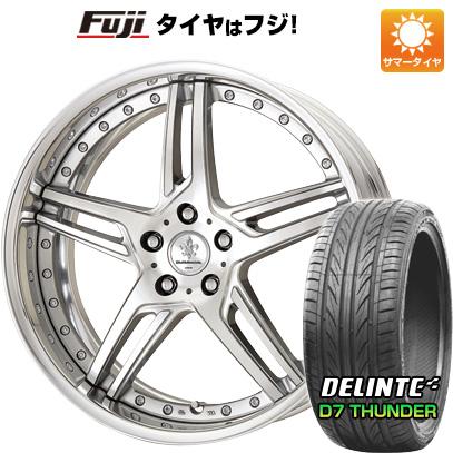 タイヤはフジ 送料無料 WORK ワーク デュランダル DD 5.2 8J 8.00-18 DELINTE デリンテ D7 サンダー(限定) 235/40R18 18インチ サマータイヤ ホイール4本セット