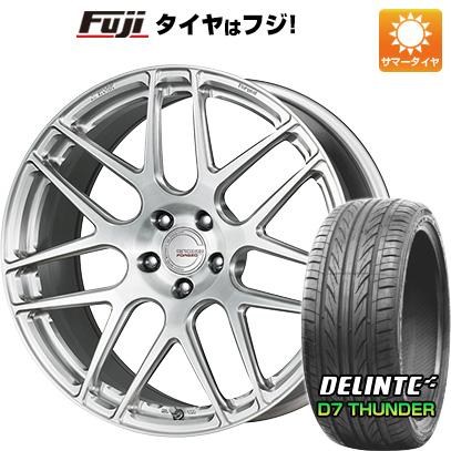 タイヤはフジ 送料無料 WORK ワーク グノーシスFMB 03 8.5J 8.50-20 DELINTE デリンテ D7 サンダー(限定) 245/35R20 20インチ サマータイヤ ホイール4本セット