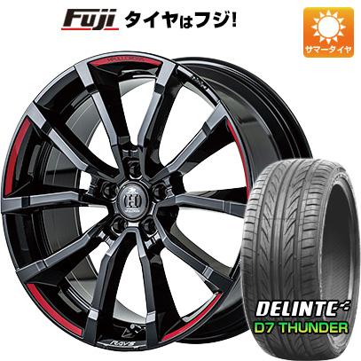 【送料無料】 245/30R20 20インチ RAYS フルクロス RV5 Limited Edition 8.5J 8.50-20 DELINTE デリンテ D7 サンダー(限定) サマータイヤ ホイール4本セット