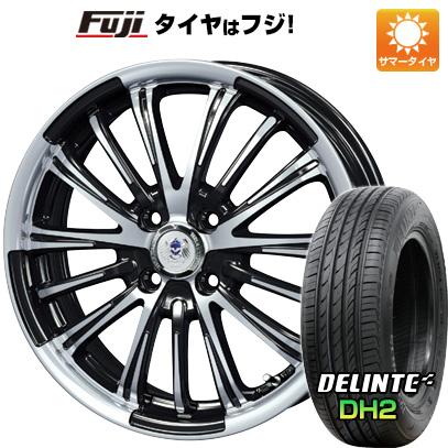タイヤはフジ 送料無料 BLEST ブレスト バーンズテック VR-01 5J 5.00-16 DELINTE デリンテ DH2(限定) 165/45R16 16インチ サマータイヤ ホイール4本セット