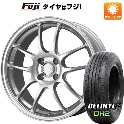 タイヤはフジ 送料無料 ENKEI エンケイ PF01 7J 7.00-16 DELINTE デリンテ DH2(限定) 195/55R16 16インチ サマータイヤ ホイール4本セット