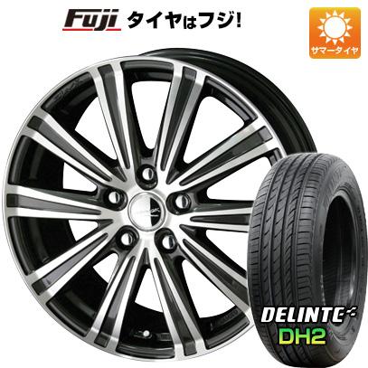 タイヤはフジ 送料無料 KYOHO 共豊 スマック スパロー 7J 7.00-17 DELINTE デリンテ DH2(限定) 215/50R17 17インチ サマータイヤ ホイール4本セット