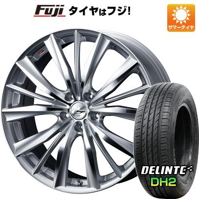 タイヤはフジ 送料無料 WEDS ウェッズ レオニス VX 7J 7.00-16 DELINTE デリンテ DH2(限定) 215/60R16 16インチ サマータイヤ ホイール4本セット