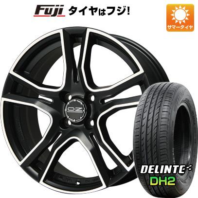 タイヤはフジ 送料無料 OZ X-LINE アドレナリーナ 6J 6.00-15 DELINTE デリンテ DH2(限定) 185/60R15 15インチ サマータイヤ ホイール4本セット