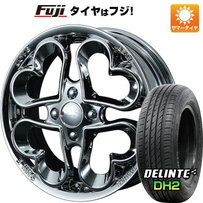 タイヤはフジ 送料無料 PIAA ジュエルハート 5J 5.00-15 DELINTE デリンテ DH2(限定) 165/50R15 15インチ サマータイヤ ホイール4本セット