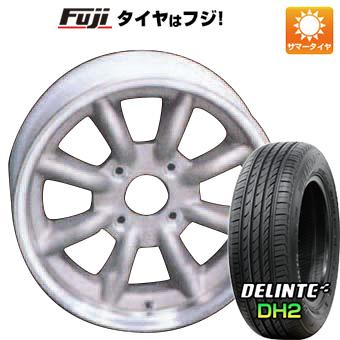 タイヤはフジ 送料無料 WATANABE ワタナベ エイトスポーク 7J 7.00-16 DELINTE デリンテ DH2(限定) 205/55R16 16インチ サマータイヤ ホイール4本セット