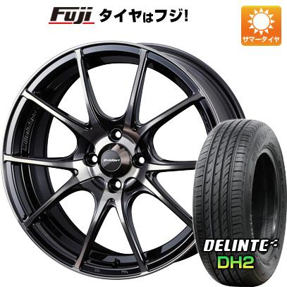 タイヤはフジ 送料無料 WEDS ウェッズスポーツ SA-10R 6J 6.00-15 DELINTE デリンテ DH2(限定) 185/65R15 15インチ サマータイヤ ホイール4本セット