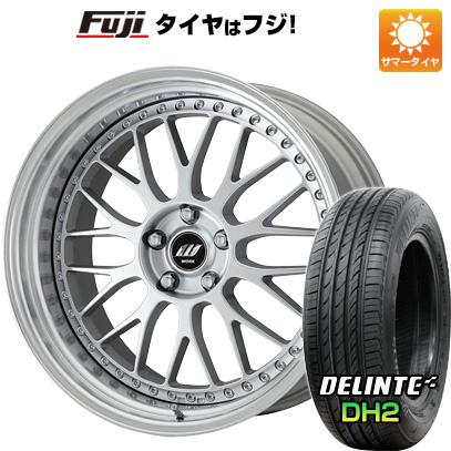 タイヤはフジ 送料無料 WORK ワーク ジスタンス W10M 9J 9.00-21 DELINTE デリンテ DH2(限定) 245/35R21 21インチ サマータイヤ ホイール4本セット