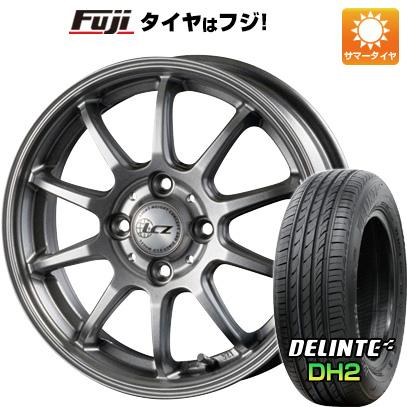 タイヤはフジ 送料無料 INTER MILANO インターミラノ LCZ 010 5.5J 5.50-15 DELINTE デリンテ DH2(限定) 185/65R15 15インチ サマータイヤ ホイール4本セット