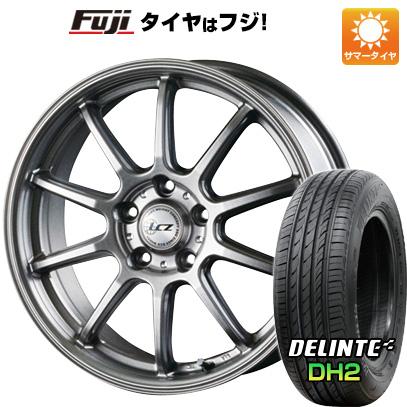 タイヤはフジ 送料無料 INTER MILANO インターミラノ LCZ 010 7J 7.00-17 DELINTE デリンテ DH2(限定) 215/60R17 17インチ サマータイヤ ホイール4本セット