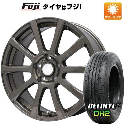 タイヤはフジ 送料無料 BRANDLE ブランドル 565Z 7.5J 7.50-18 DELINTE デリンテ DH2(限定) 215/35R18 18インチ サマータイヤ ホイール4本セット