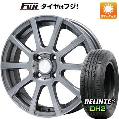 タイヤはフジ 送料無料 BRANDLE ブランドル 565T 4.5J 4.50-15 DELINTE デリンテ DH2(限定) 165/50R15 15インチ サマータイヤ ホイール4本セット