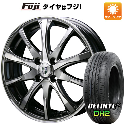 タイヤはフジ 送料無料 BLEST ブレスト バーンシュポルト タイプ504 7J 7.00-17 DELINTE デリンテ DH2(限定) 215/50R17 17インチ サマータイヤ ホイール4本セット