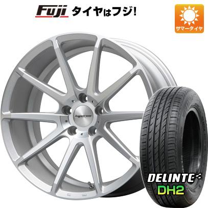 タイヤはフジ 送料無料 MLJ ハイペリオン CVX 8J 8.00-18 DELINTE デリンテ DH2(限定) 235/50R18 18インチ サマータイヤ ホイール4本セット