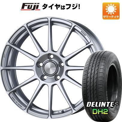 タイヤはフジ 送料無料 ENKEI エンケイ PF03 6.5J 6.50-16 DELINTE デリンテ DH2(限定) 195/55R16 16インチ サマータイヤ ホイール4本セット