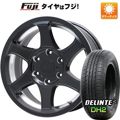 タイヤはフジ 送料無料 ハイエース200系 M-TECHNO エムテクノ M.T.S. C-インパクト限定 8J 8.00-18 DELINTE デリンテ DH2(限定) 225/50R18 18インチ サマータイヤ ホイール4本セット