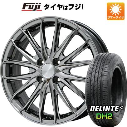タイヤはフジ 送料無料 BRANDLE ブランドル 757C 6.5J 6.50-16 DELINTE デリンテ DH2(限定) 205/50R16 16インチ サマータイヤ ホイール4本セット