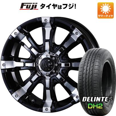 タイヤはフジ 送料無料 ハイエース200系 CRIMSON クリムソン マーテルギア(MG) ビースト 8.5J 8.50-18 DELINTE デリンテ DH2(限定) 225/50R18 18インチ サマータイヤ ホイール4本セット