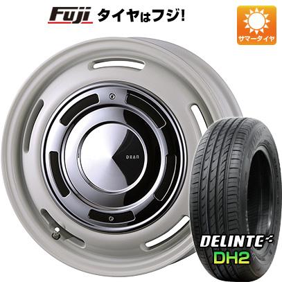 タイヤはフジ 送料無料 CRIMSON クリムソン ディーン クロスカントリー 4.5J 4.50-15 DELINTE デリンテ DH2(限定) 165/55R15 15インチ サマータイヤ ホイール4本セット