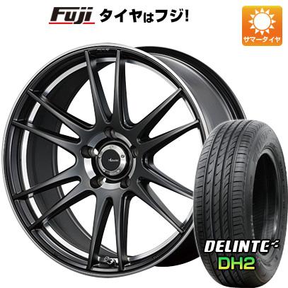 タイヤはフジ 送料無料 ADVANTI RACING アドヴァンティ・レーシング ヴィゴロッソ N948 7.5J 7.50-18 DELINTE デリンテ DH2(限定) 225/45R18 18インチ サマータイヤ ホイール4本セット