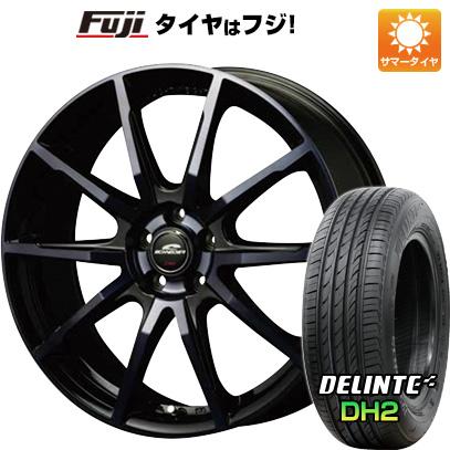 タイヤはフジ 送料無料 MID シュナイダー DR-01 6J 6.00-16 DELINTE デリンテ DH2(限定) 205/50R16 16インチ サマータイヤ ホイール4本セット
