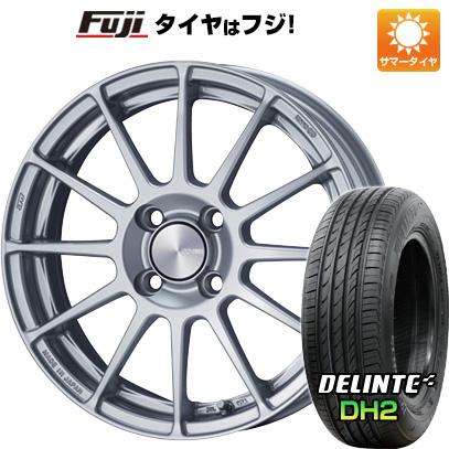 タイヤはフジ 送料無料 ENKEI エンケイ PF03 5J 5.00-15 DELINTE デリンテ DH2(限定) 165/50R15 15インチ サマータイヤ ホイール4本セット
