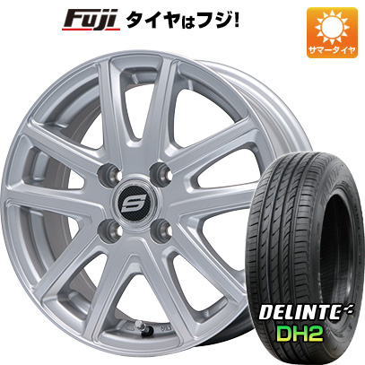 タイヤはフジ 送料無料 BRANDLE ブランドル M61 5.5J 5.50-14 DELINTE デリンテ DH2(限定) 175/65R14 14インチ サマータイヤ ホイール4本セット