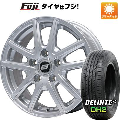 タイヤはフジ 送料無料 BRANDLE ブランドル M61 6J 6.00-16 DELINTE デリンテ DH2(限定) 205/55R16 16インチ サマータイヤ ホイール4本セット
