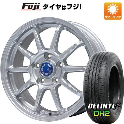 タイヤはフジ 送料無料 プリウス50系専用 BRANDLE ブランドル M60 トヨタ車専用(平座ナット仕様) 6.5J 6.50-15 DELINTE デリンテ DH2(限定) 195/65R15 15インチ サマータイヤ ホイール4本セット