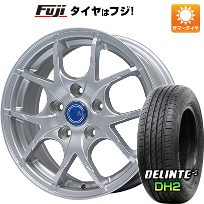 タイヤはフジ 送料無料 BRANDLE ブランドル M69 7.5J 7.50-18 DELINTE デリンテ DH2(限定) 235/50R18 18インチ サマータイヤ ホイール4本セット