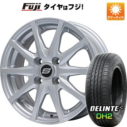 タイヤはフジ 送料無料 BRANDLE ブランドル M71 5.5J 5.50-14 DELINTE デリンテ DH2(限定) 175/65R14 14インチ サマータイヤ ホイール4本セット